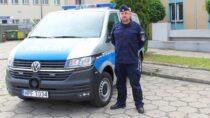 Nowy radiowóz dla wieluńskiej Komendy Policji