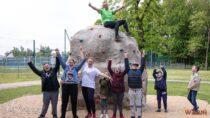 Uczniowie ZSS wWieluniu spędzili aktywnie Światowy Dzień Ochrony Środowiska