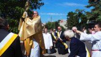 Uroczystość Bożego Ciała wparafii św.Barbary wWieluniu