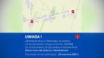 UWAGA kierowcy! Utrudnienia wruchu drogowym wWidoradzu