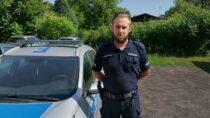 Policjanci wczasie wolnym zatrzymali nietrzeźwego kierowcę