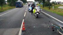 Śmiertelny wypadek wOsjakowie. Nieżyje 96-letni rowerzysta
