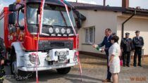 Uroczyste poświęcenie iprzekazanie samochodu ratowniczo – gaśniczego OSP wKadłubie