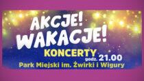 WDK wWieluniu zaprasza nacykl koncertów Akcje! Wakacje!