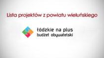 Trwa głosowanie wBudżecie Obywatelskim. Lista projektów zpowiatu wieluńskiego