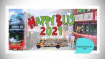 Bezpłatny, mobilny plac zabaw dla dzieci Happy Bus odwiedzi Wieluń