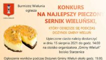 Konkurs nanajlepszy pieczony Sernik Wieluński