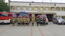 Wieluńscy strażacy uczcili 77. rocznicę wybuchu Powstania Warszawskiego
