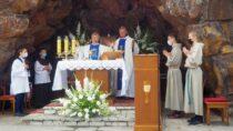 Odpust wkościele o. Franciszkanów wWieluniu