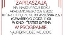 Inauguracja roku akademickiego 2021/2022 WUTW