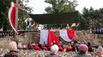 Msza św.podczas wieluńskich obchodów 82. rocznicy wybuchu II wojny światowej