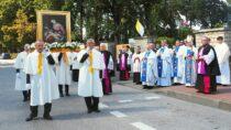 50. rocznica koronacji obrazu Matki Bożej Pocieszenia wWieluniu