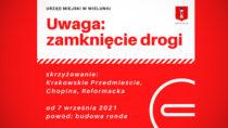 UWAGA kierowcy! Zmiana organizacji ruchu drogowego wWieluniu