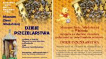 """Wieluńskie muzeum zaprasza nawarsztaty iotwarcie wystawy """"Dzieje pszczelarstwa"""""""