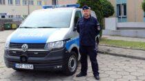 Pijany 44-letni kierujący wyeliminowany zruchu przezpolicjanta posłużbie