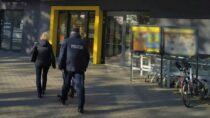 Wieluńska policja isanepid kontrolują wsklepach przestrzeganie obostrzeń