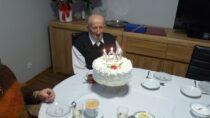 Uczczono 100. urodziny pana Floriana Koźlaka zBiałej – Parceli