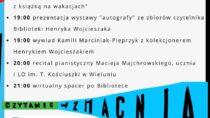 Wieluńska edycja ogólnopolskiej akcji Noc Bibliotek 2021